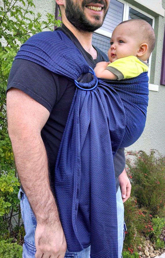 Mesh Water Ring Sling Baby Carrier By Cuteawaking On Etsy 35 00