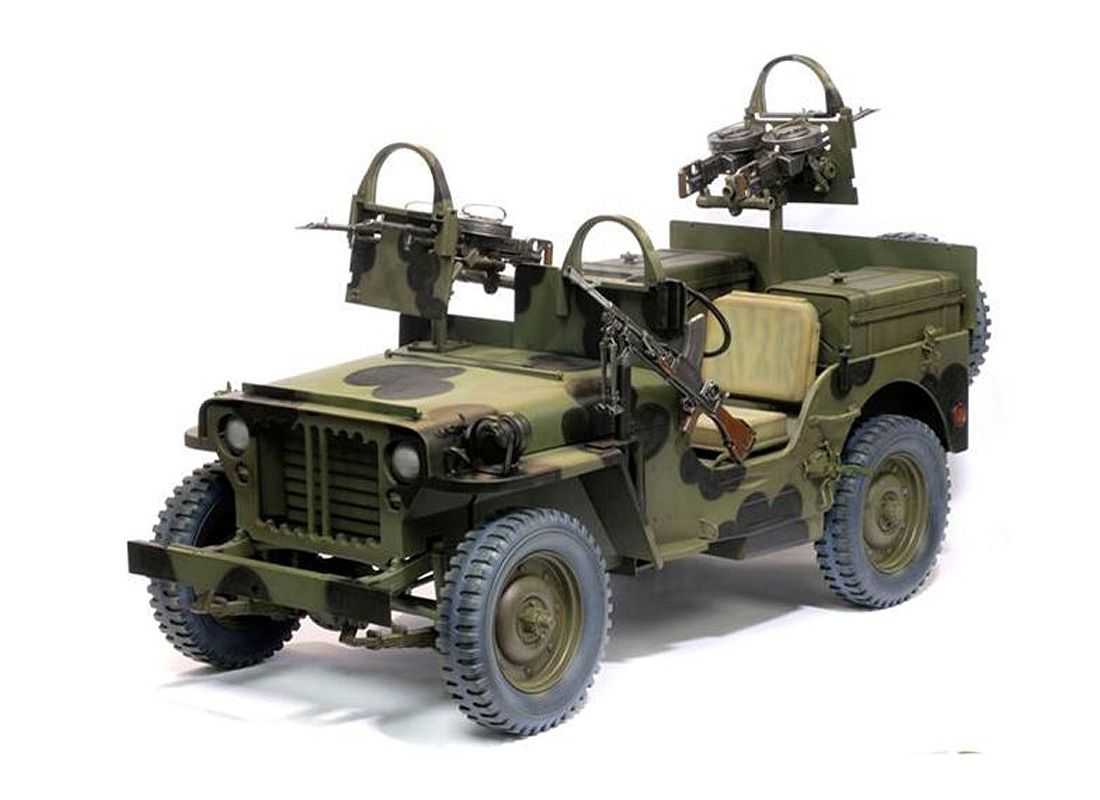 dragon 1 6 willys jeep plastic model car dr71444 this. Black Bedroom Furniture Sets. Home Design Ideas