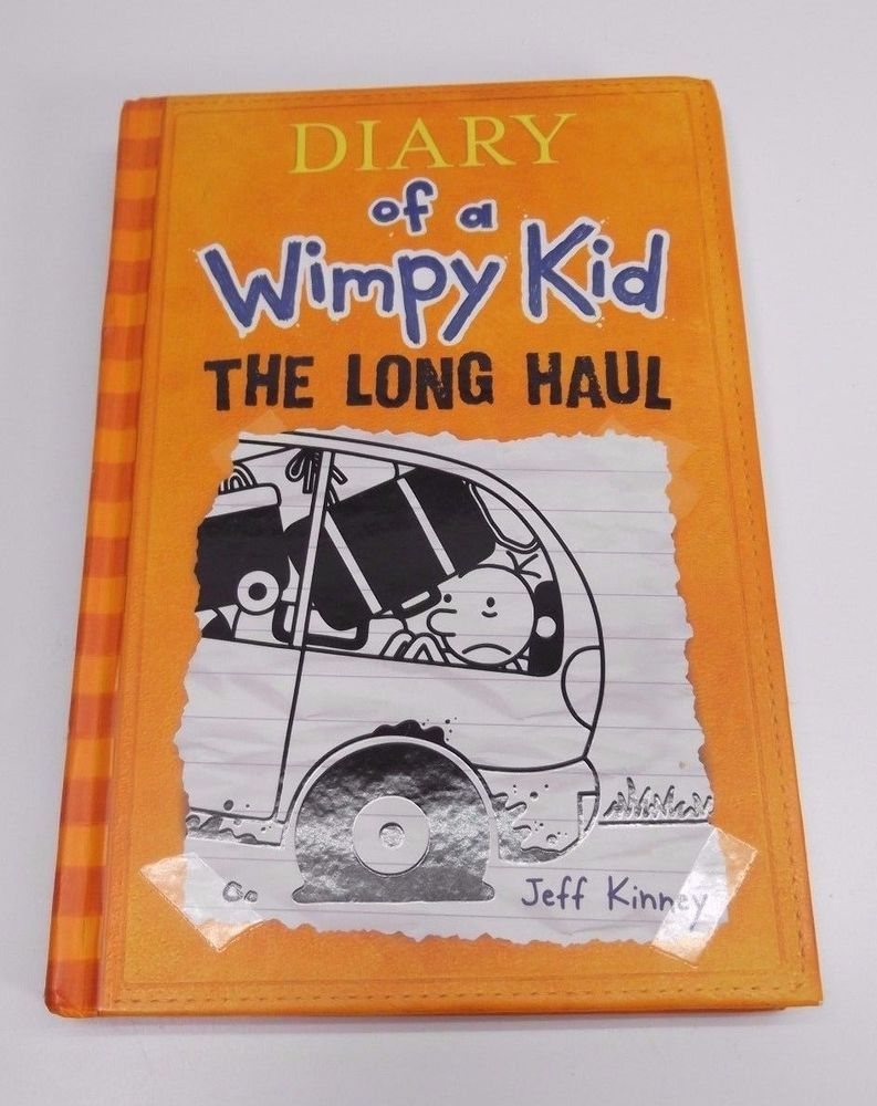 Diary Of A Wimpy Kid The Long Haul By Jeff Kinney Hard Cover Excellent Wimpy Kid Wimpy Jeff Kinney