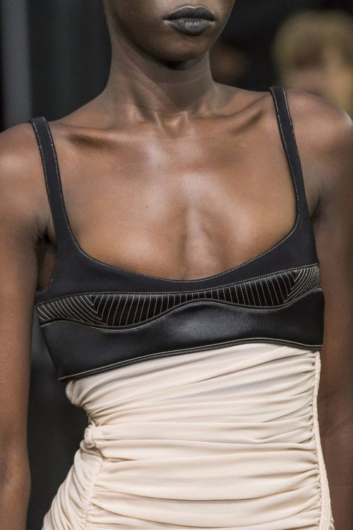 themakeupbrushThierry Mugler SS 2019 Fashion pics