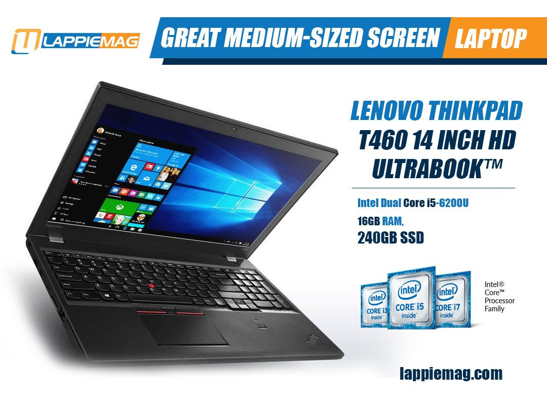 Lenovo ThinkPad T460 14 inch HD Screen Laptop Computer (Intel Dual