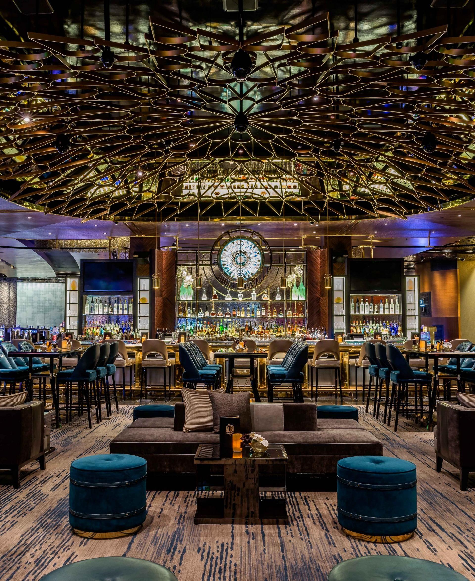 5 Lavish Projects By Studio Munge: Restaurant Design, Bar Interior
