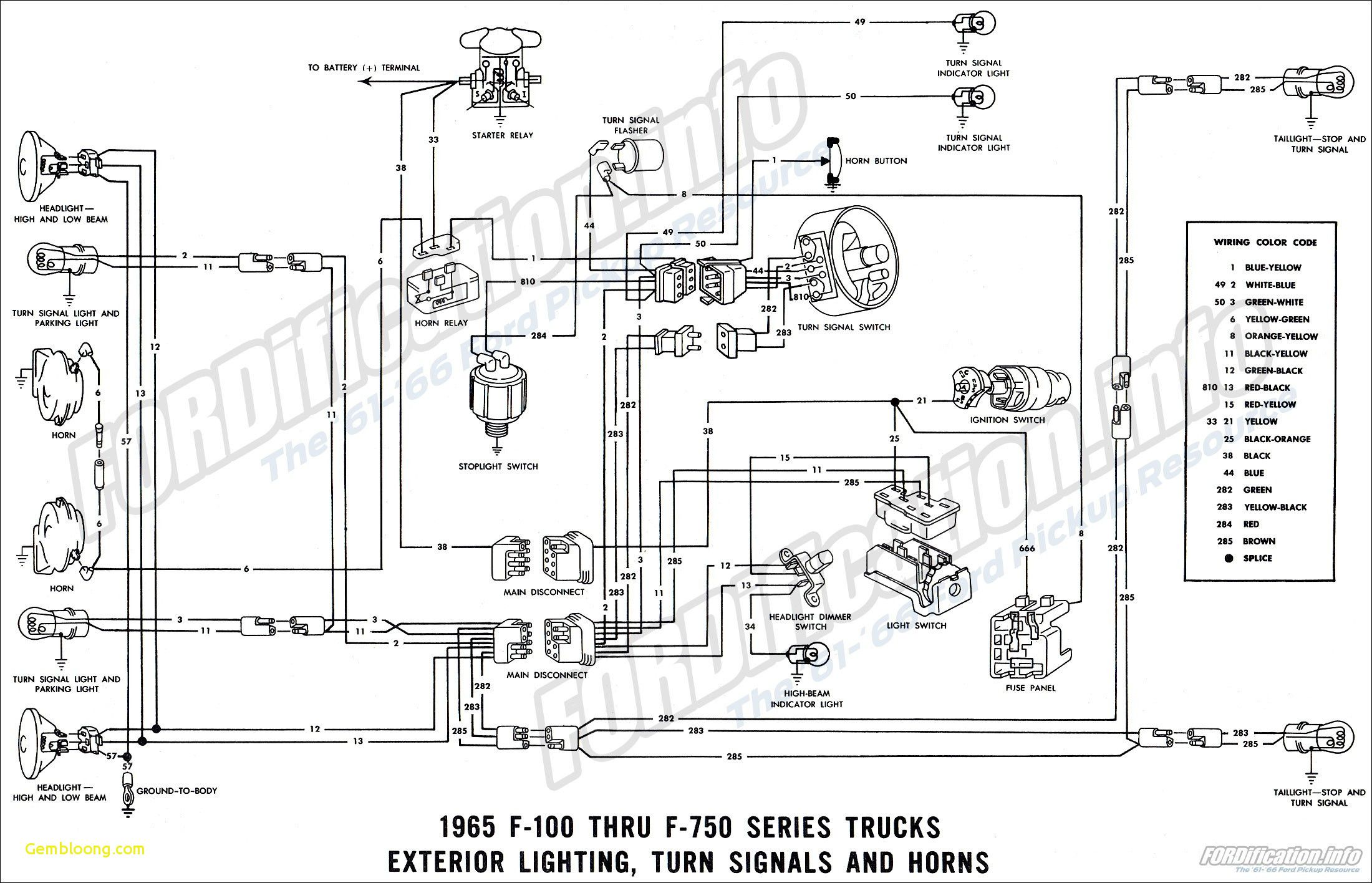 Fine Ford Harness Wiring Diagram Ford F100 Alternator