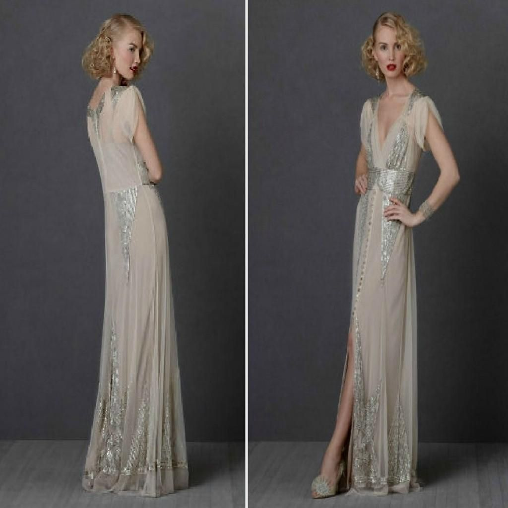 2018 1930 Wedding Dress - How to Dress for A Wedding Check more at ...