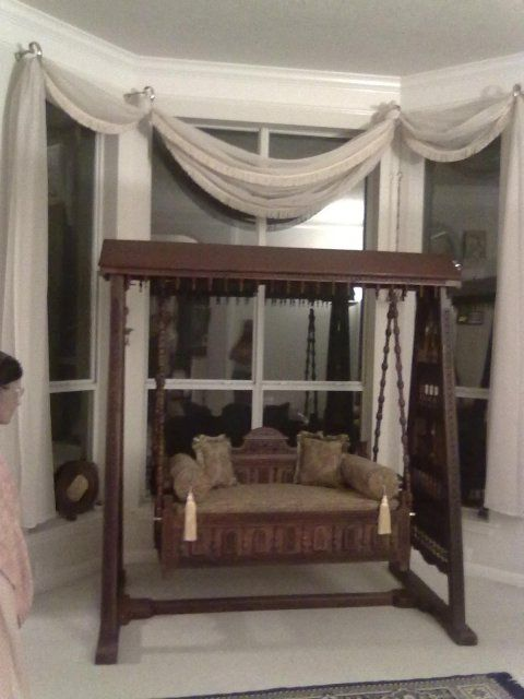 Traditional Swing For Living Room: Indian Wood Jhoola, Swing