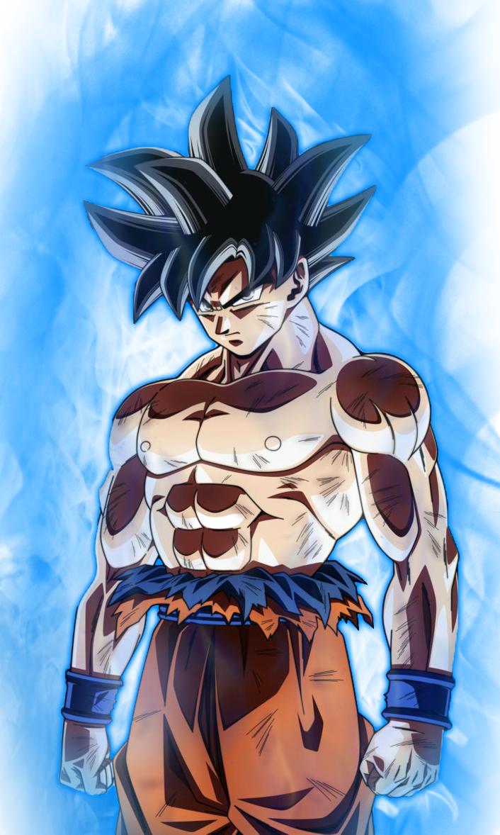 Goku Limit Breaker Imagem de anime, Desenho de anime