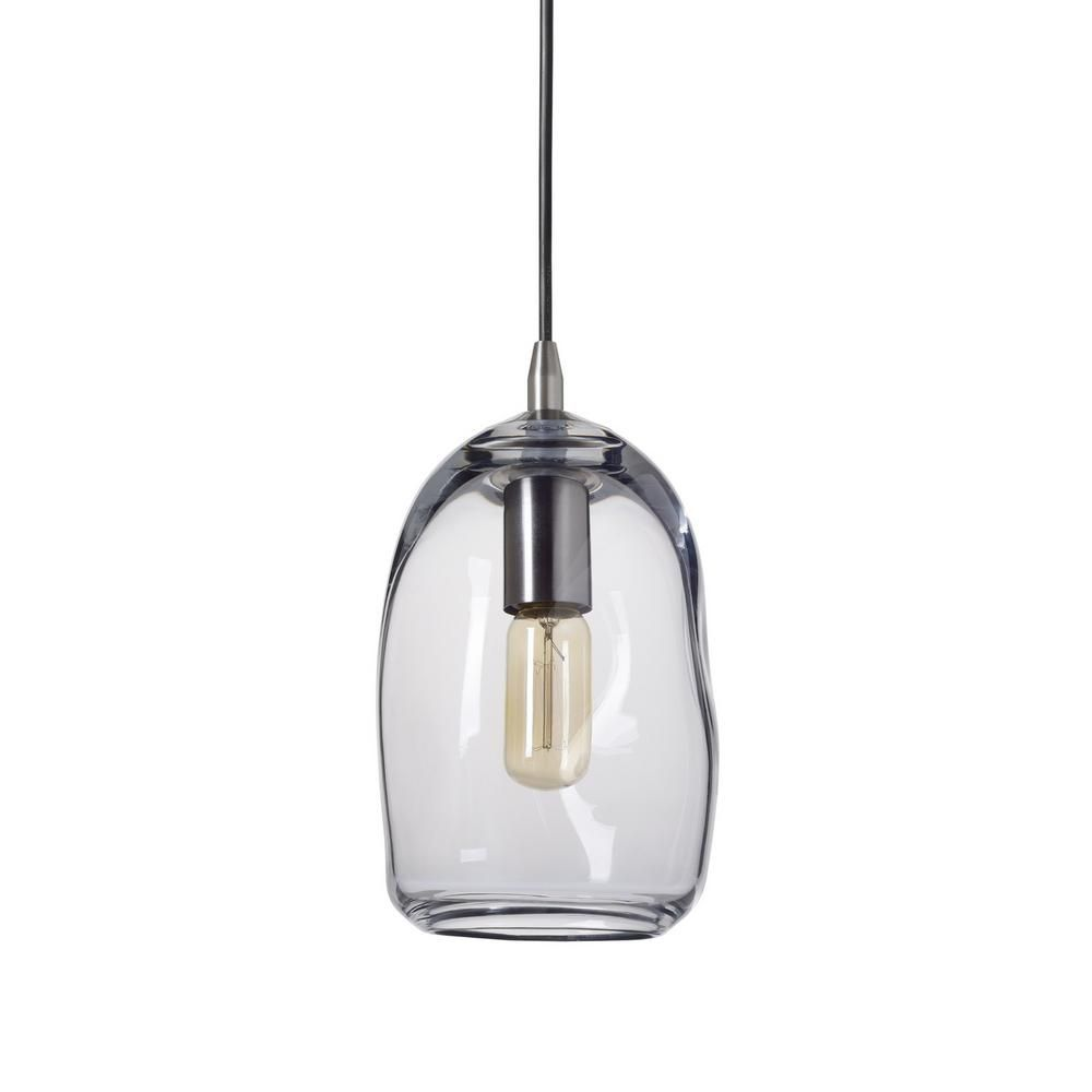 Casamotion 6 In W X 9 In H 1 Light Silver Organic Contemporary