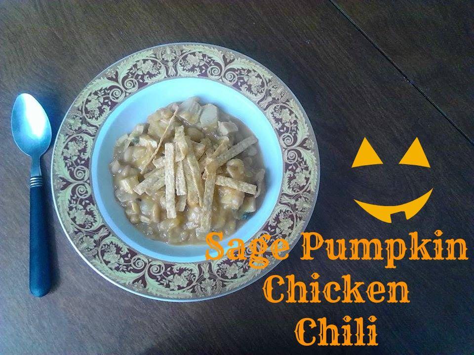 Sage Pumpkin Chicken Chili