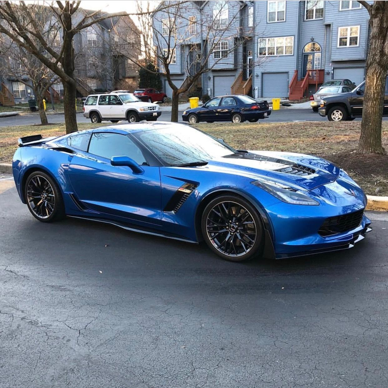 Chevrolet Corvette C7 Z06 Painted In Laguna Blue Photo Taken By