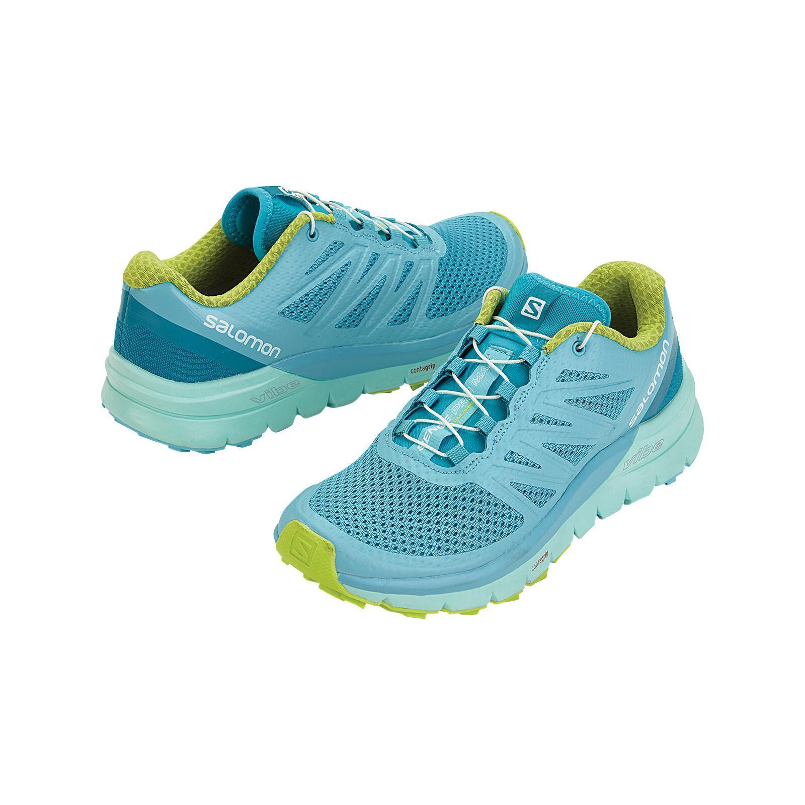 Salomon Sense Ride GTX Invisible Fit Trail Running Shoes Women's | REI Outlet