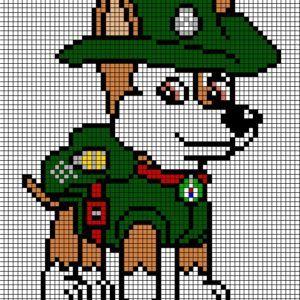 Pixel Art Pat Patrouille Gamboahinestrosa