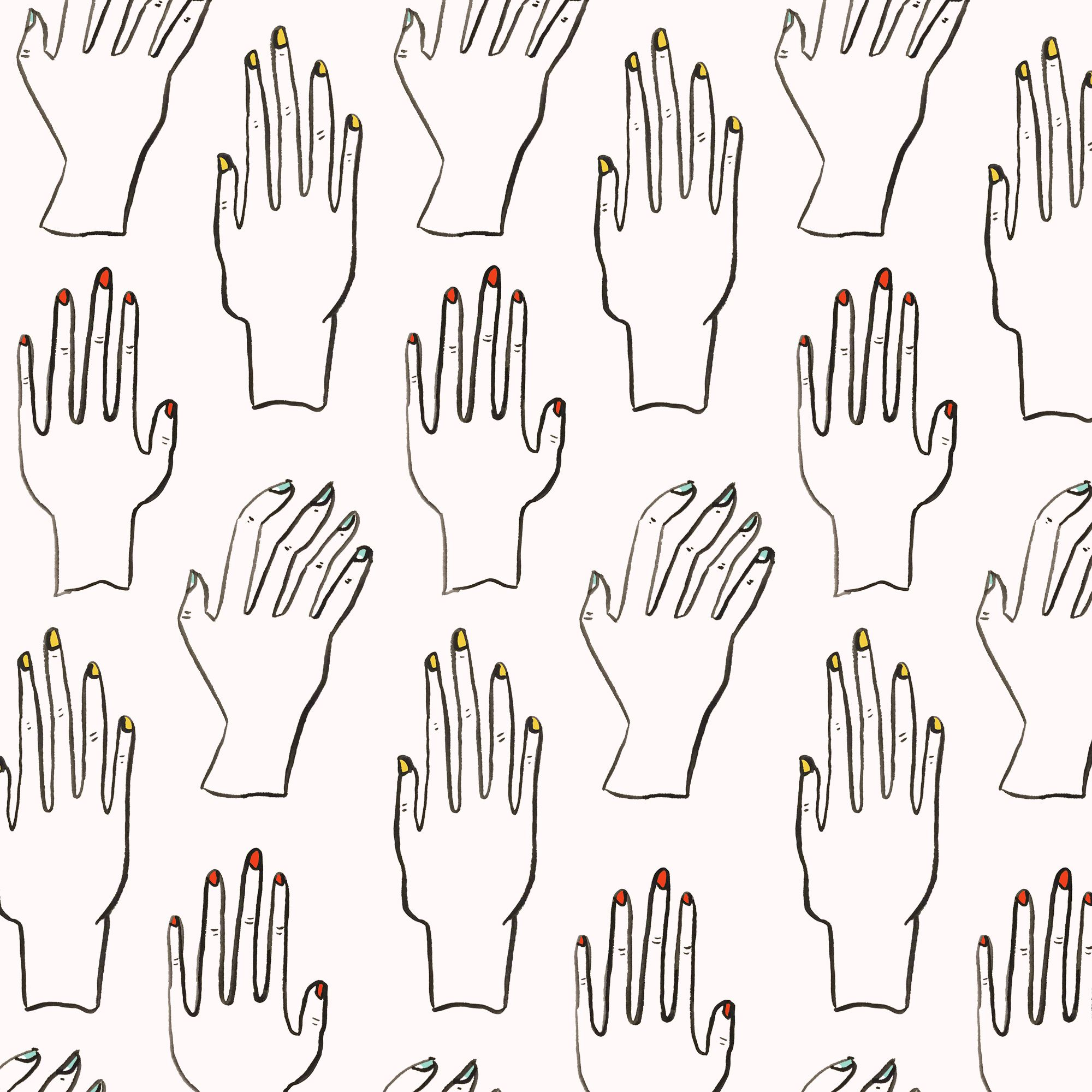 the nail salon   the100dayproject  100daysofsfpatterns