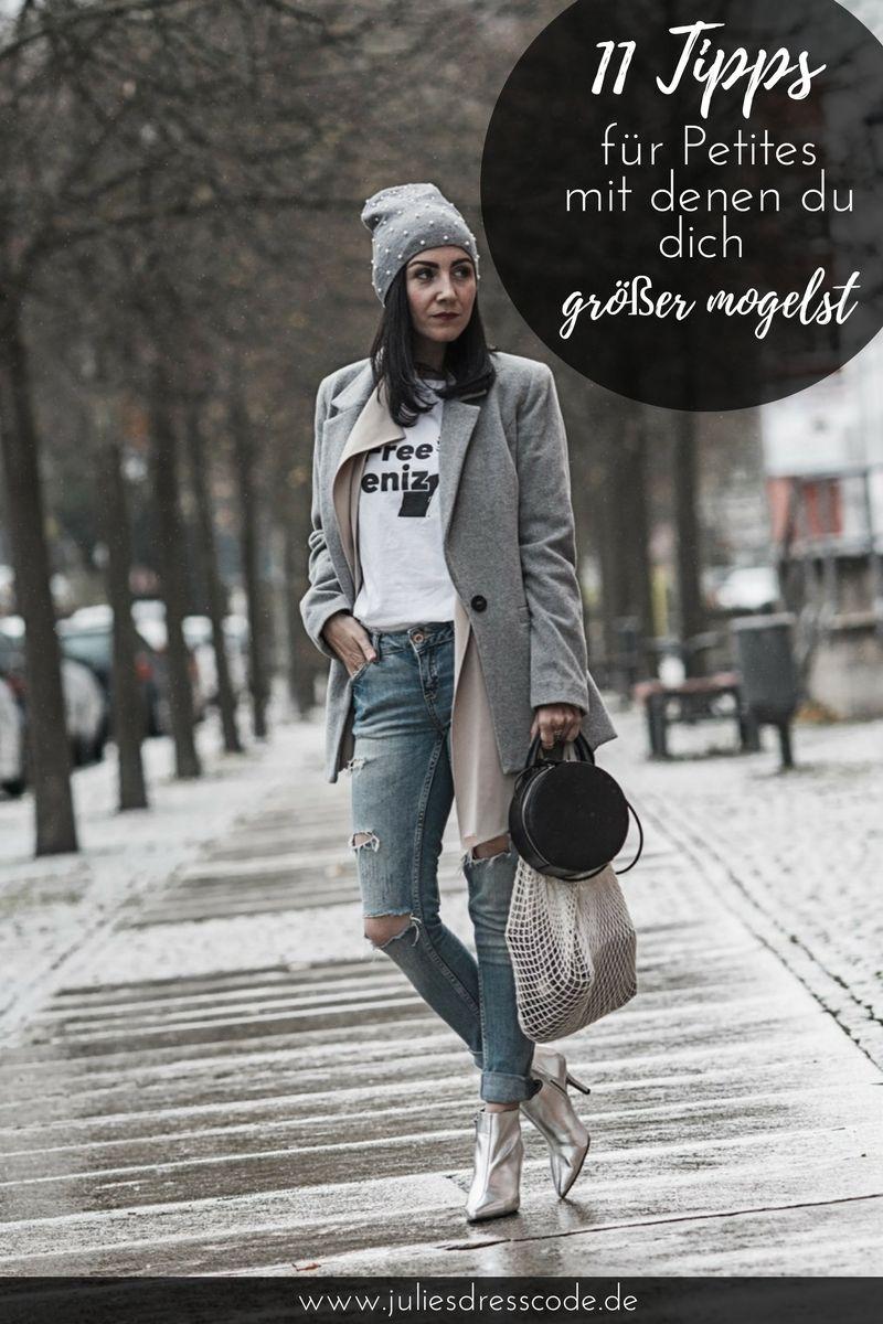 petite fashion und wie kleidung größer mogeln kann | mode