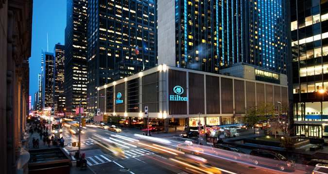 The Hilton New York In City Boasts Largest Self Contained Conference E And One Of Nation S Hotelny Hotel