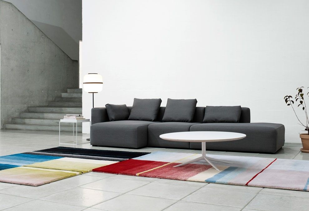 carpets by Scholten & Baijings & MAGS SOFA for HAY http://decdesignecasa.blogspot.it/