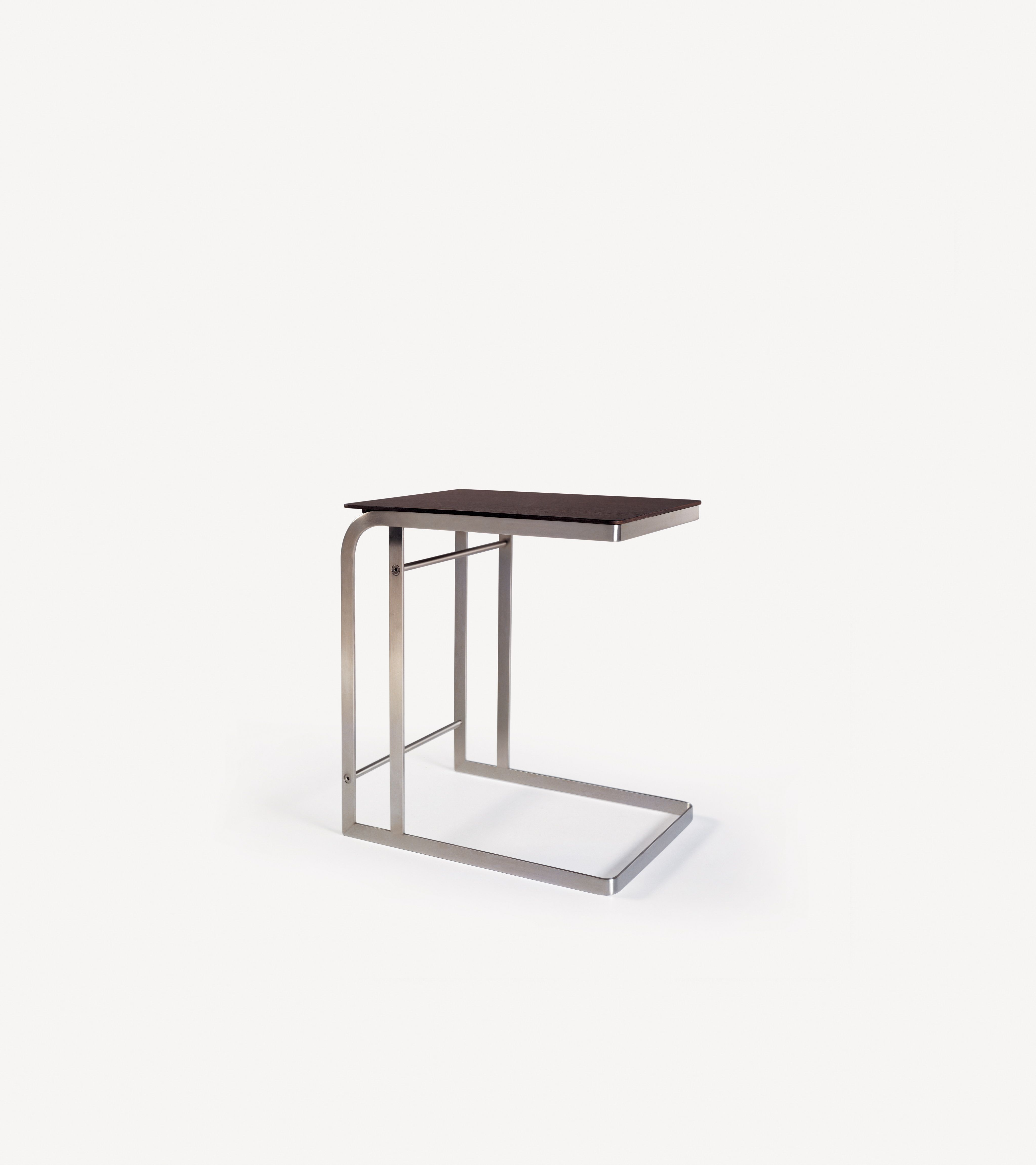 Slide under your sofa for instant gratification, Flexform Carlotta Break style side table.