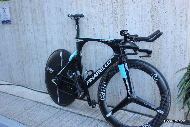 Chris Froome 2016 Pinarello Tt Bike Spotted In Mallorca Spain