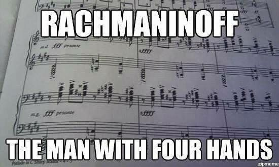 Geekedy On Instagram For All You Pianists Out There Piano Classic Rachmaninoff Music Four Hands Fourhands Music Jokes Music Quotes Funny Piano Music