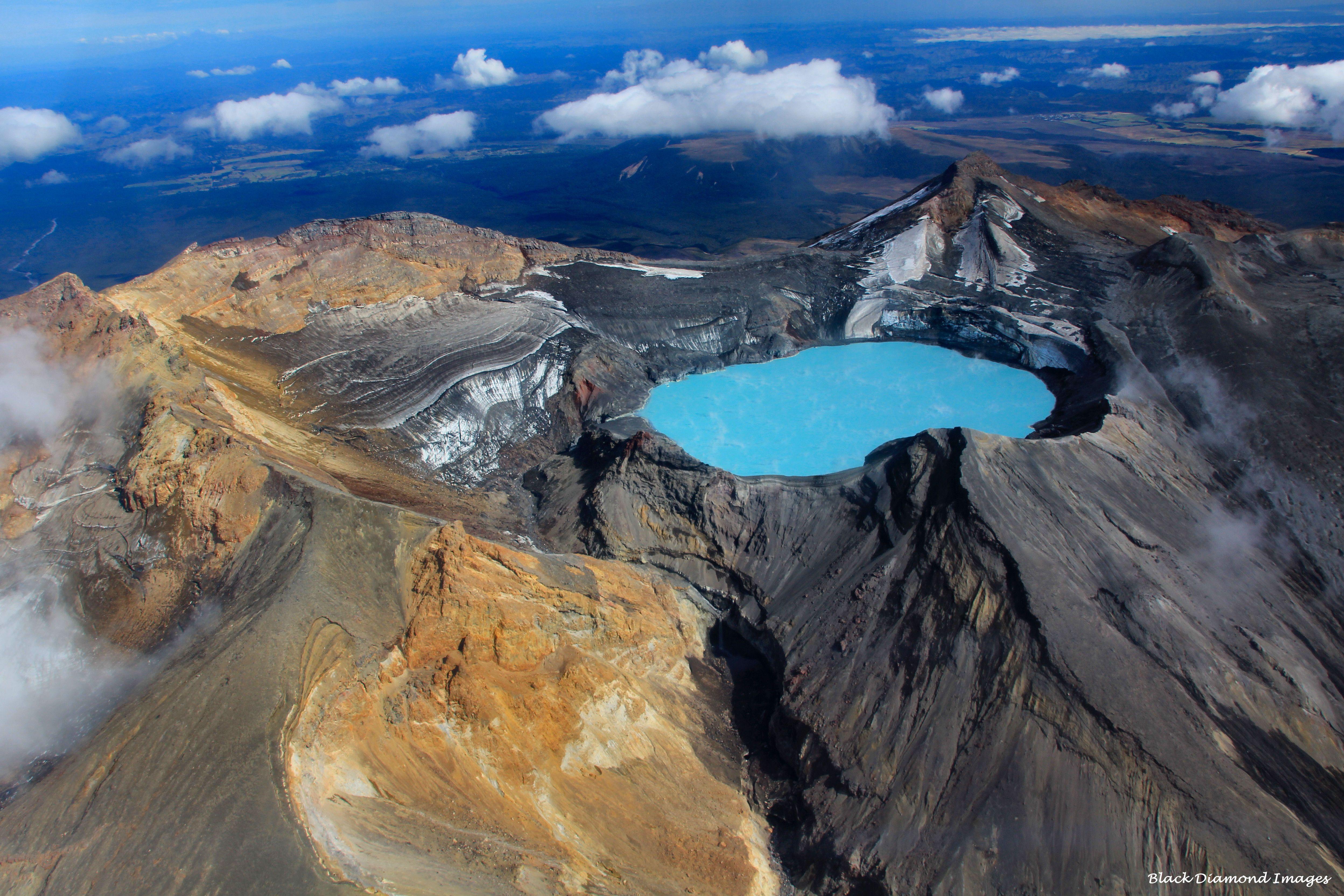 Tongariro National Park - North Island, New Zealand * One ...