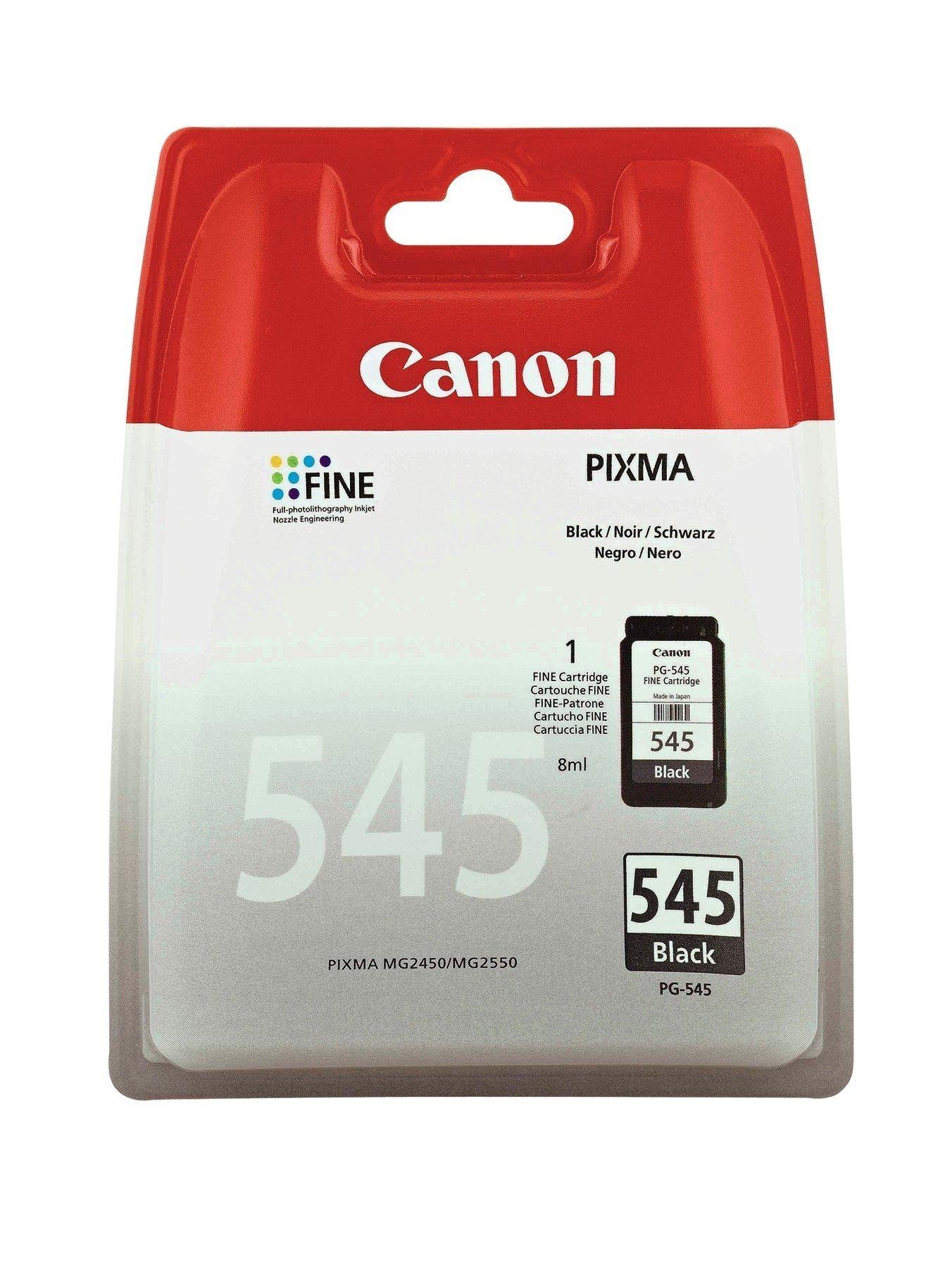 Canon Pg 545 Black Ink Cartridge In Black Ink Cartridge Canon