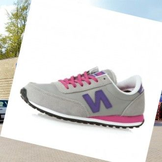 New Balance Ul410 Dame Trænere Grå-Lilla-Pink,Stylish trainers hot sale with 80% off right here.