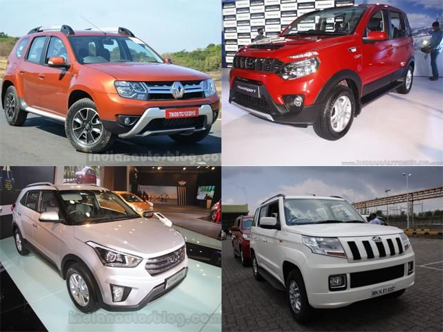 List Of 6 Affordable Compact Suvs With An Automatic Gearbox In India 6 Affordable Compact Suvs With An Automatic Gearbox Automatic Cars