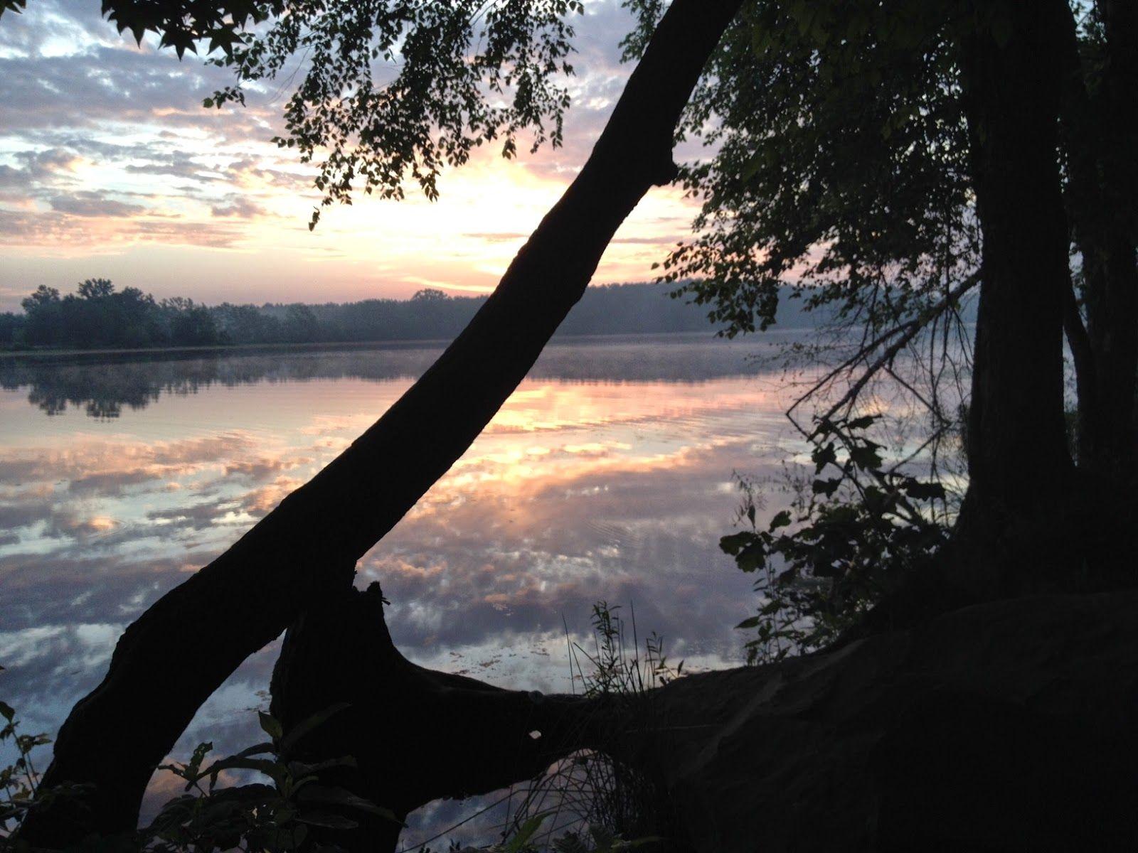 Bailey Lake at Petit Jean State Park Arkansas travel vacation