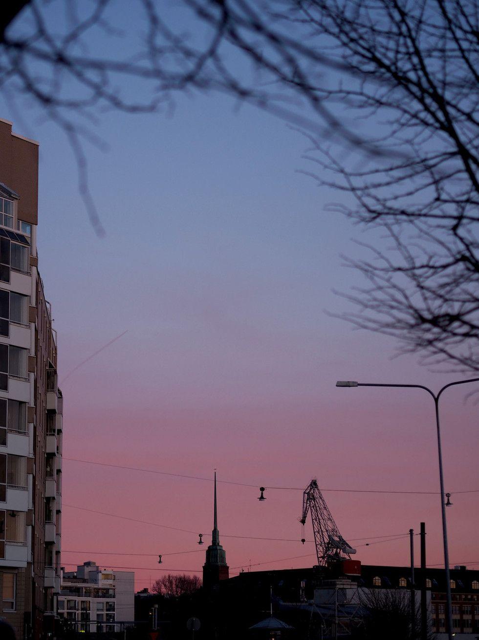 Helsinki sunset | Photo: Pupulandia