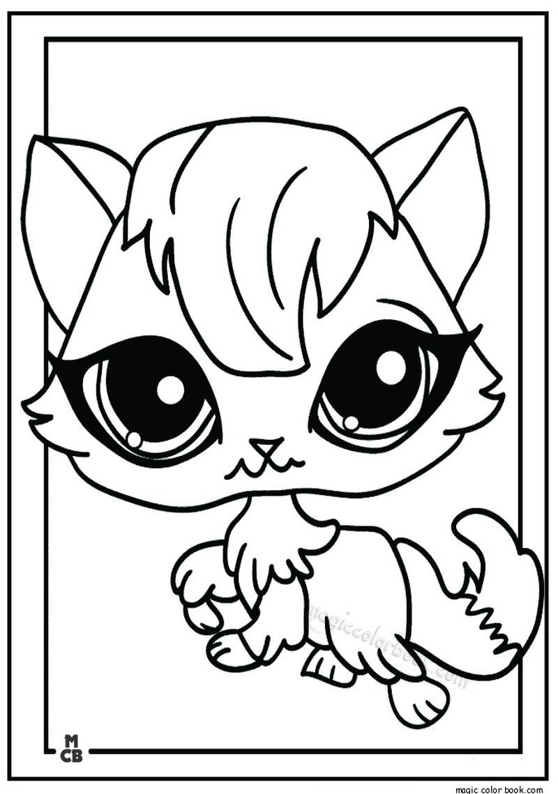 Littlest Pet Shop Coloring Pages Animal Coloring Pages Coloring Pages Free Coloring Pages