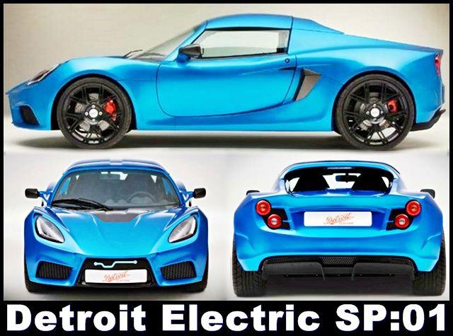 Detroit Electric A Startup Electric Car Maker Reviving A Brand