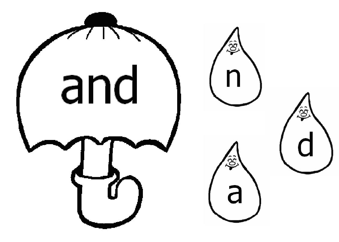 Word Work Clip Art D5