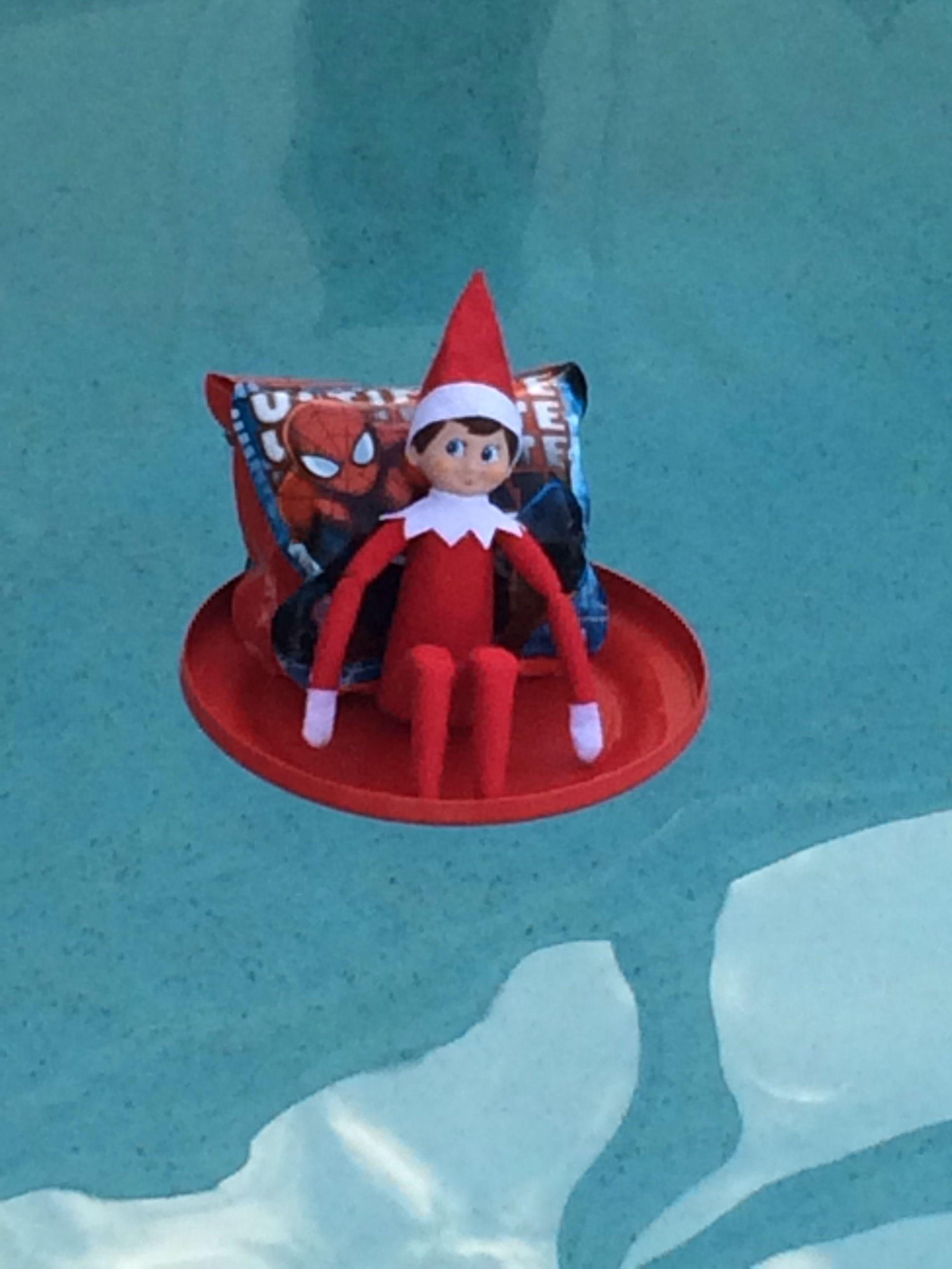 Morning float. Elf on a shelf. | Elf! | Pinterest