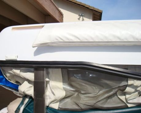 Replace The Seal On A Coleman Pop Up Camper Coleman Pop