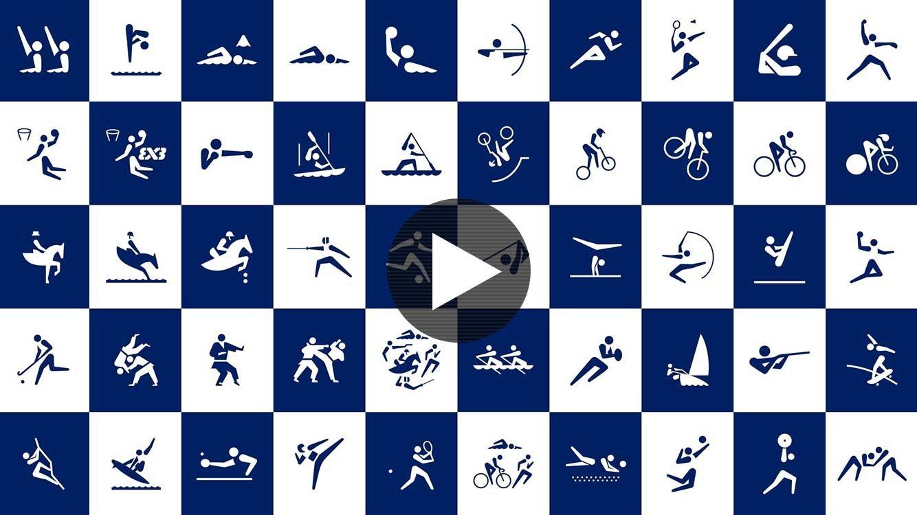 東京2020オリンピックスポーツピクトグラムの発表について