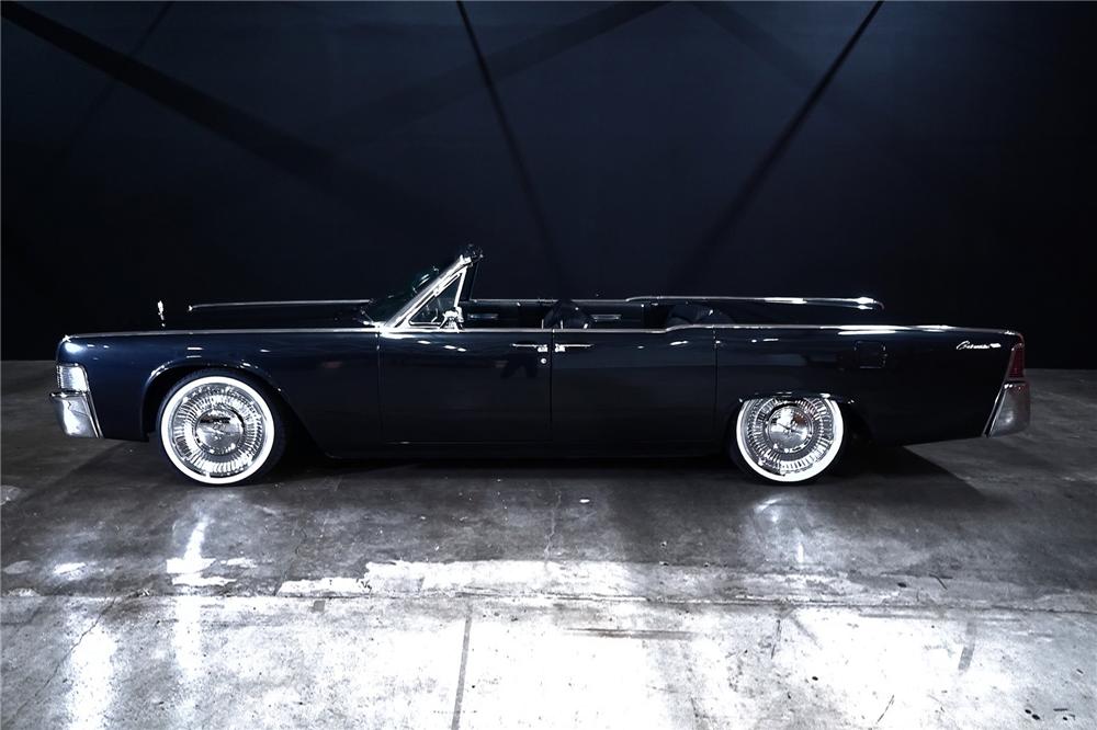 1965 Lincoln Continental Custom Convertible Lincoln Continental Lincoln Cars Lincoln