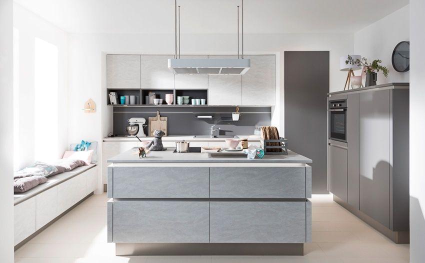 Nolte Küchen Center No1 greeploze keukens Moderne keukens