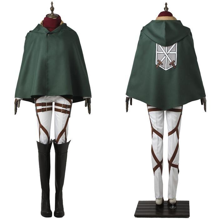 Attack on Titan Mikasa Ackerman Shingeki no Kyojin Uniform ...
