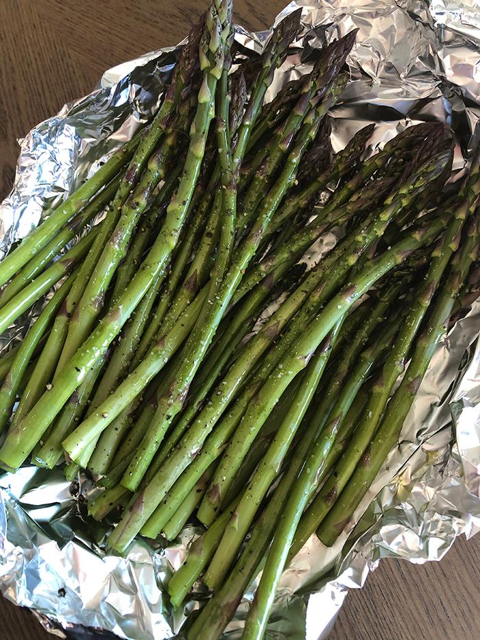 Smoked Asparagus - Recipe Diaries