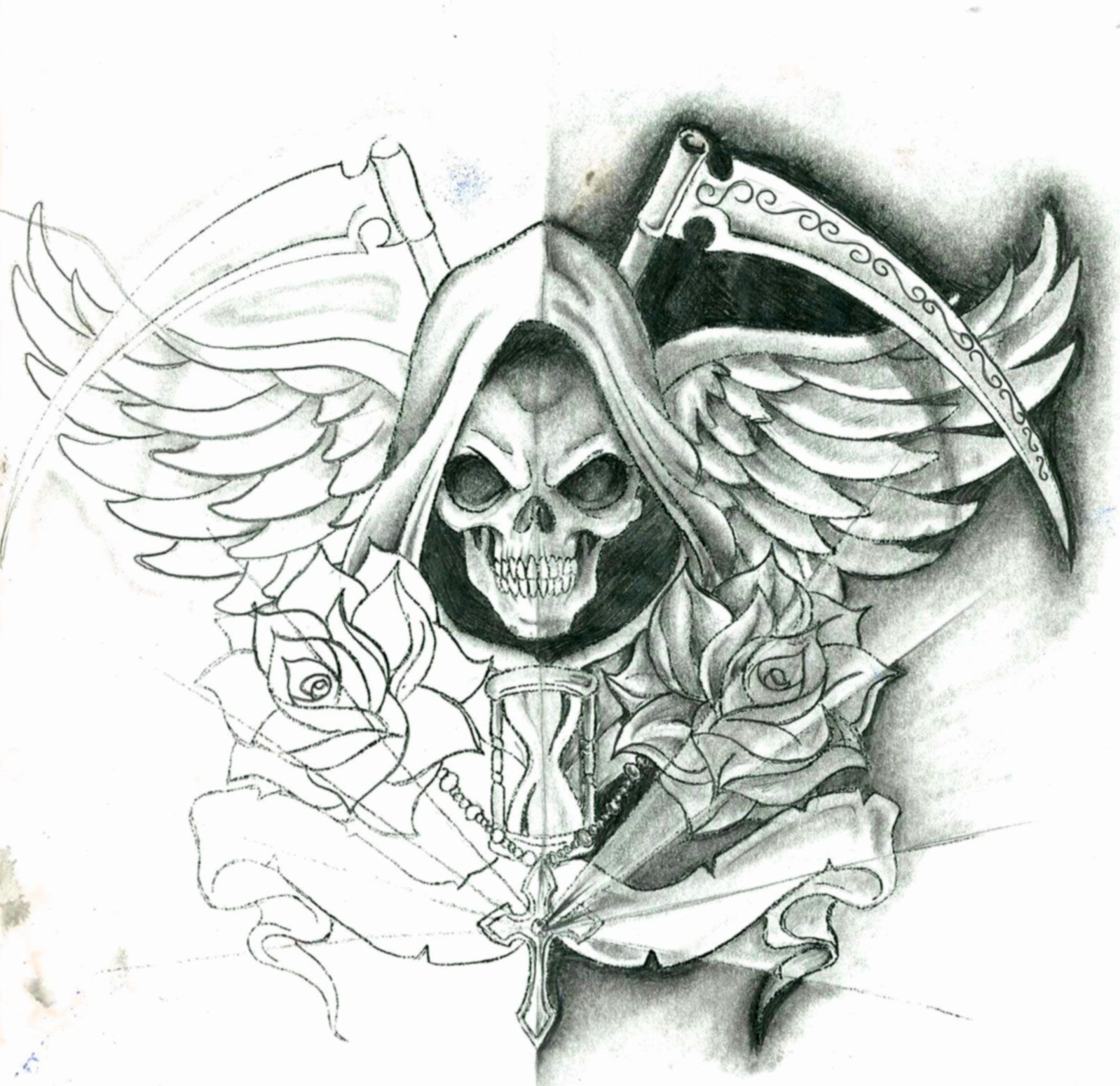La muerte buenas imagenes y en cantidad  Santa muerte Tattoo