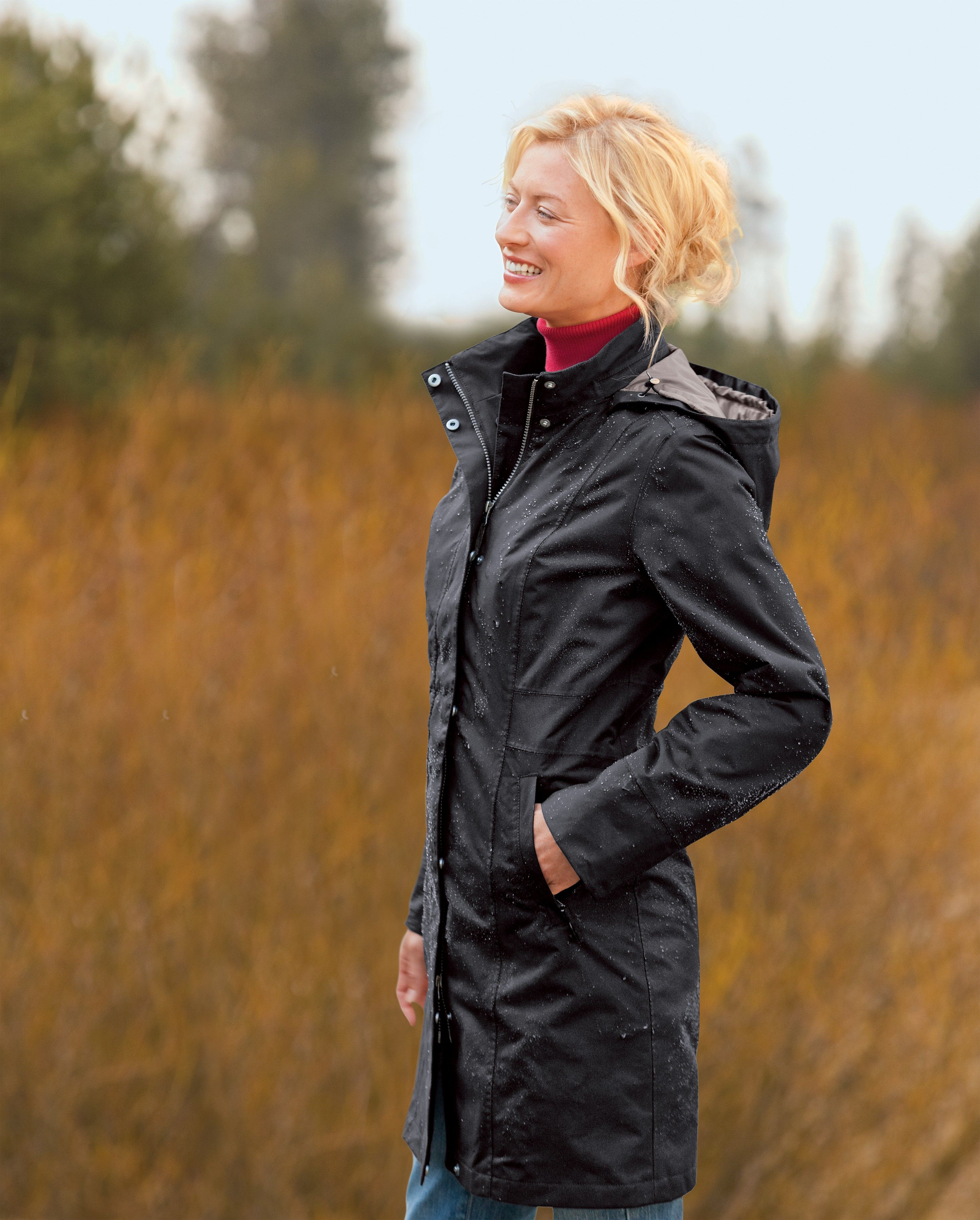 282cfbcb8 Girl on the Go® Insulated Trench Coat | Eddie Bauer | Clothes, hair ...