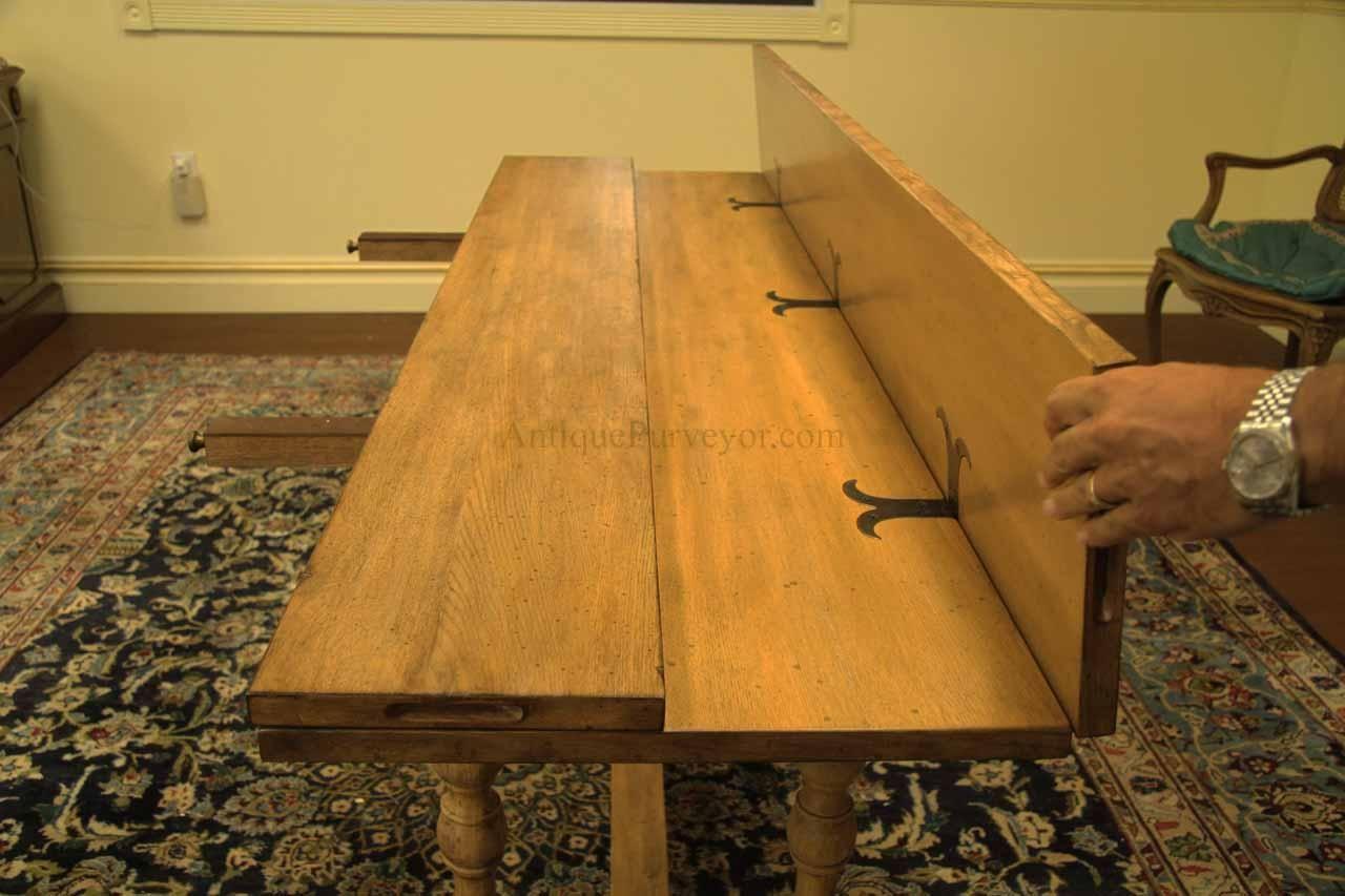 Country Flip Top Console Table Folding E Saving Dining Diy