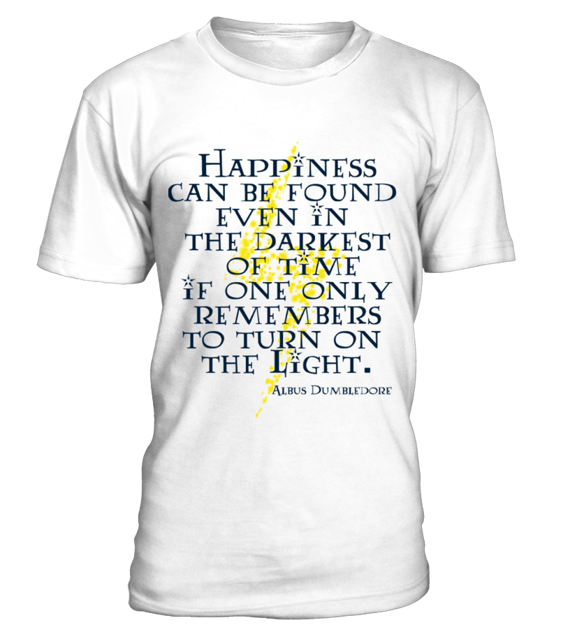 3875b1b3a Harry Potter tshirt with Dumbledore quote :