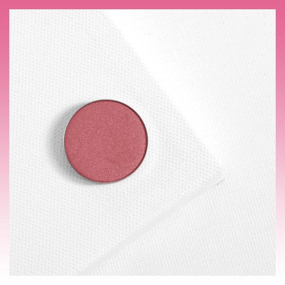 Pebbles satin yellowy pink Pressed Powder eye shadow