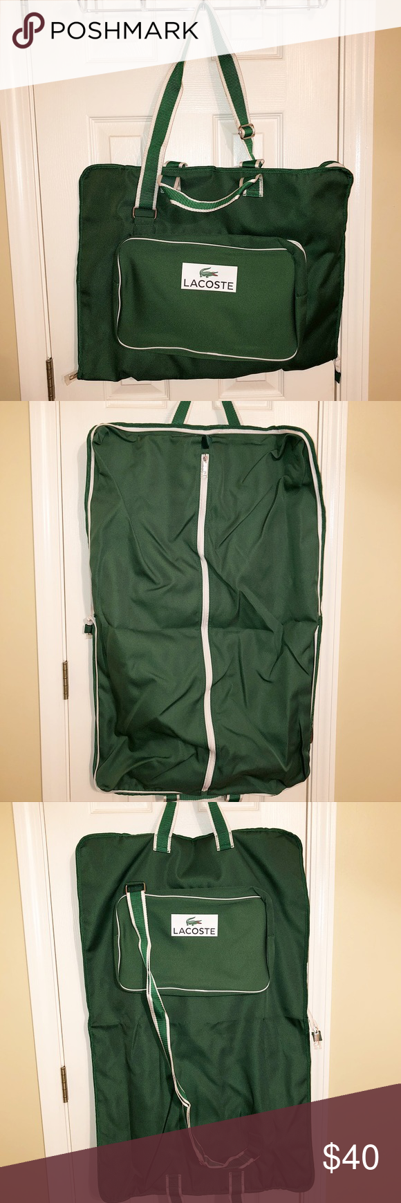 412585d77c Brand New Lacoste Garment Bag Multiple compartments. Comes in original  packaging! Lacoste Bags
