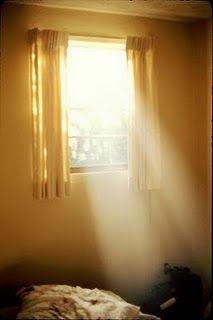 Morning Sunlight Through Window Window Light Tranquil Bedroom Beautiful Lights