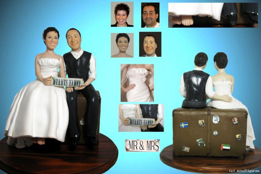 Personalisierte Tortenfigur Hochzeitsfigur Von Minifiguren At Artists De Kunstler Kunst Und Kunstwerke Torten Figuren Tortenfiguren Online Galerie