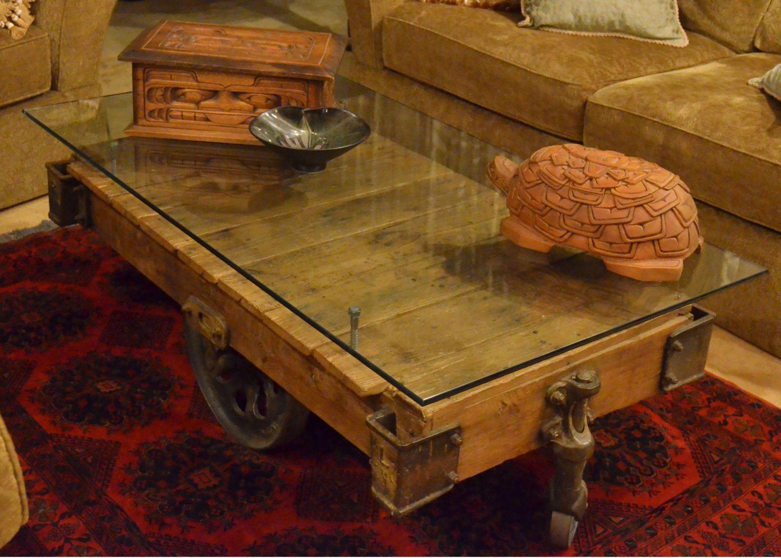 Brilliant Furniture Cart Repurposed Into A Coffee Table Like The Inzonedesignstudio Interior Chair Design Inzonedesignstudiocom