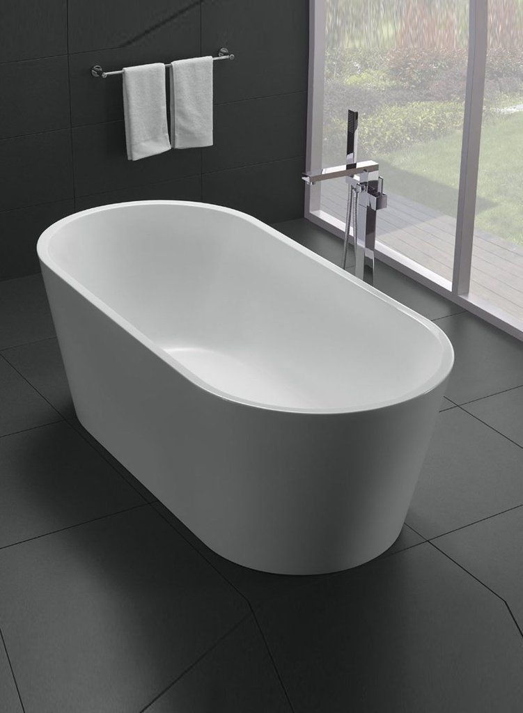 Buy the Eviva Alexa 60″ White Free Standing Acrylic Bathtub EVTB1018 ...