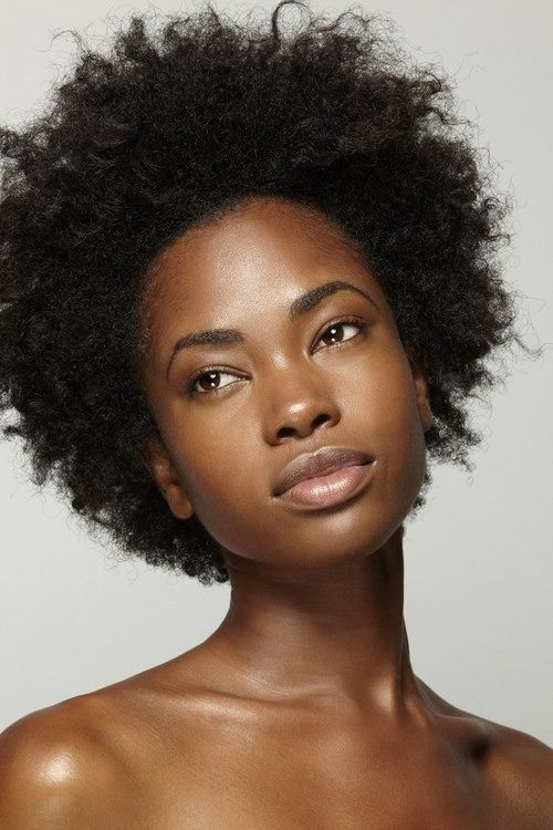 short natural hair. twa