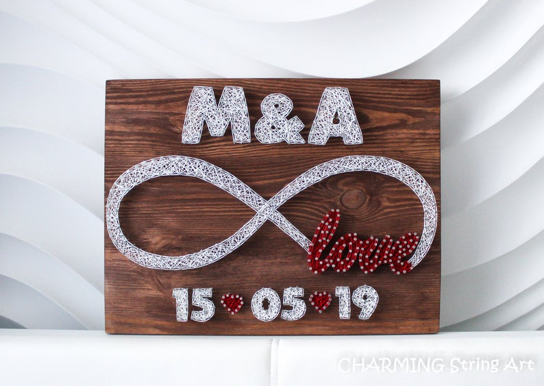 Alphabet Letter Floral Letter Family Name Anniversary Date Family Sign Wedding Date Wedding Gift Anniversary Gift Letter Art